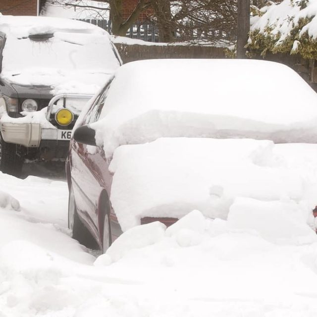 Heavy snowfall in Shropshire causes dangerous driving conditions Read morehellip