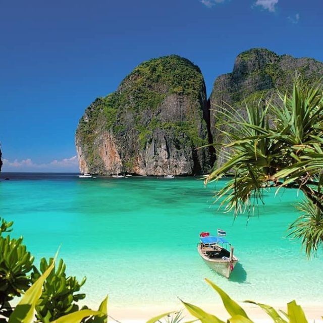 One of Thailands most popular beaches Maya Bay famous fromhellip
