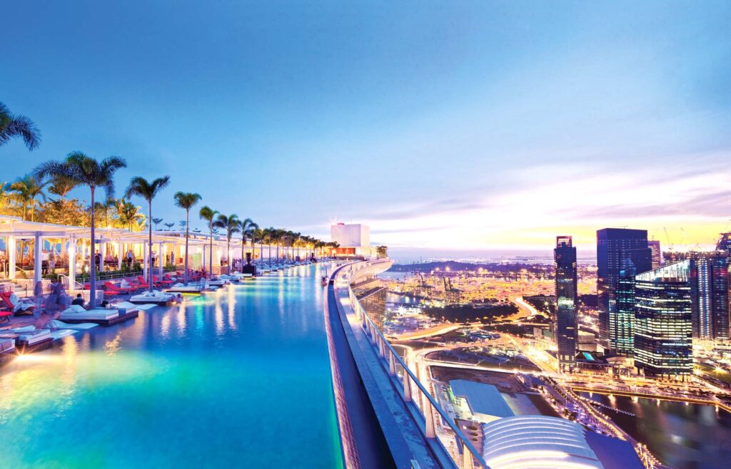 Marina Bay Sands infinity-pool