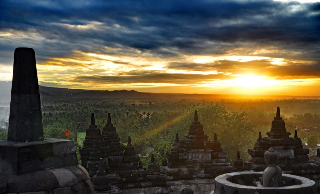 Sunrise over the Temple