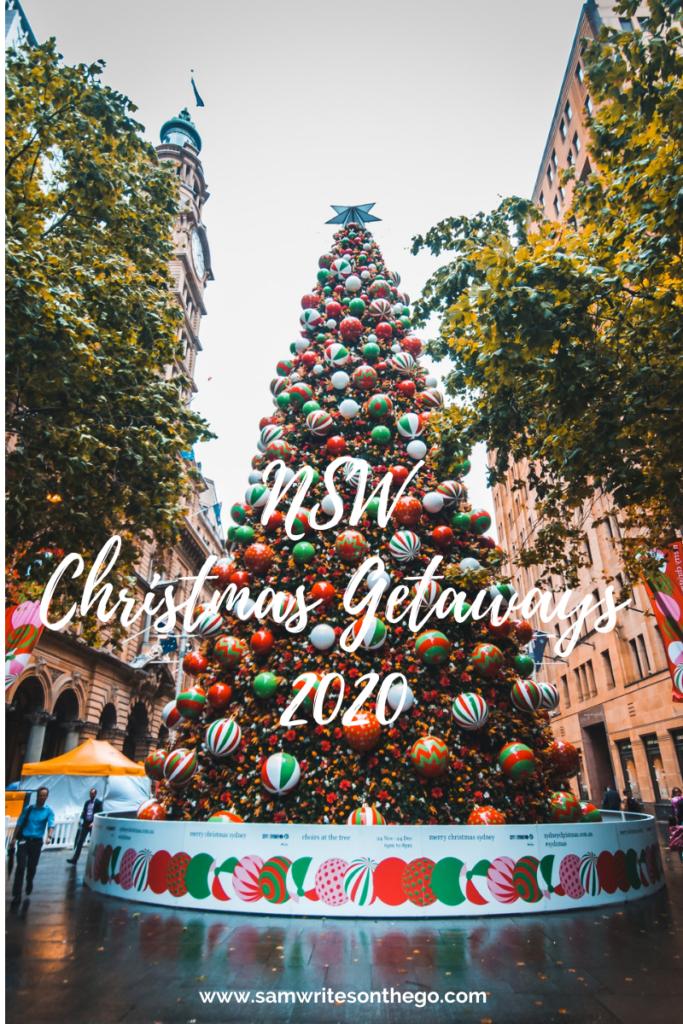 NSW Christmas Getaways 2020